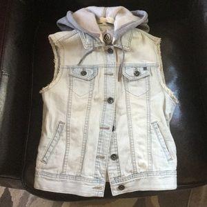 Volcom Denim Vest Size XS